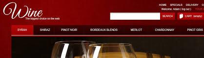 website template 42846 wine store production custom website