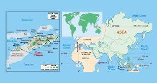 east political map maps of east timor detailed map of east timor timor leste in