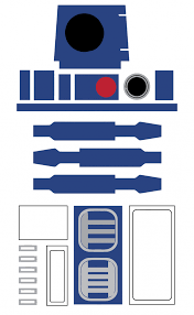 R2d2 Printable Template wars birthday ideas my practical birthday guide r2d2