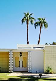 exterior color modern facades palm springs palm springs