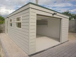 nice modern flat roof house plans 6 prefab flat roof garage