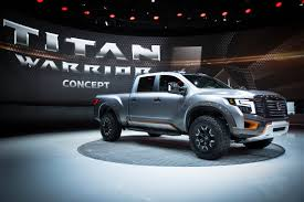 nissan titan warrior 2017 nissan titan warrior concept and nissan ids concept featured at