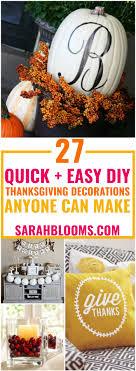 easy diy thanksgiving decor ideas anyone can make