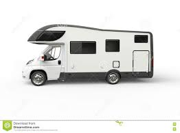 volkswagen minibus side view big white camper van side view stock illustration image 73216432