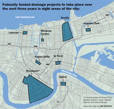 City Map Of New Orleans by New Orleans To Move Forward With 115 Million In Ecologically