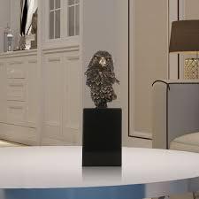 best and cheap bronze marble base eagle hawk handmade bronze