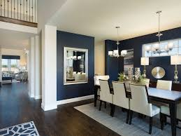 meritage homes model home lantana beautiful navy walls dining