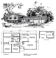beautiful tri level house plans 8 1970s tri level home plans new