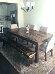 rustic farm table chairs chairs for farm style table lesdonheures com