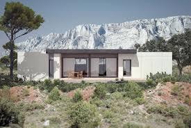 maison préfabriquée passive modulaire contemporaine solar