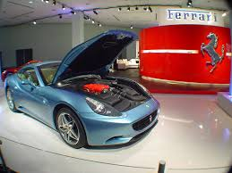 Ferrari California Light Blue - 9 ferrari california paint colors auto notebook