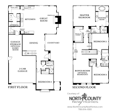 homes for sale with floor plans westcott at la costa oaks floor plan 2 county homes