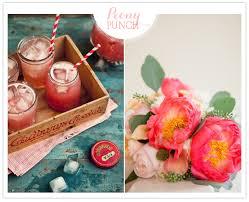 festive cocktails pretty florals entertaining ideas