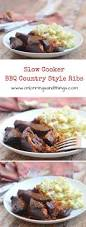 slow cooker bbq country ribs recipe country style ribs slow