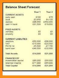 16 small business balance sheet abstract sample