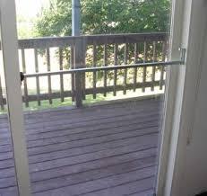 sliding glass door security bars sliding glass door alarm