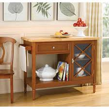 country living light mahogany kitchen island shop your way