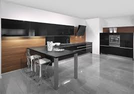 black and kitchen ideas 22 kitchens in black and wooden palette home design lover