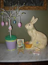 Victorian Easter Decorations by Victorian Wanna Be A New Bunny And Other Easter Decorations