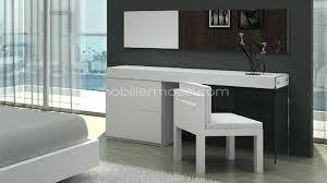 chaise design bureau bureau laque blanc design bureau design laquac blanc elyse 100 cm