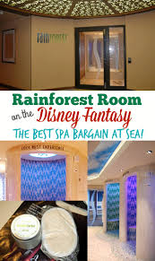 rainforest room on the disney fantasy the best spa bargain at sea