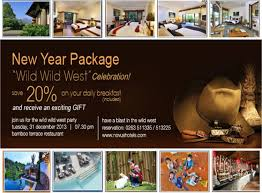 new years party package new year package west celebration in hotel puncak