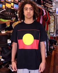 Flag Clothing Aboriginal Flag T Shirt Planet Corroboree