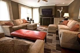 colorful home decor burnt orange living room decor kitchen living room ideas