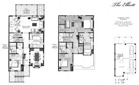 30 Grand Trunk Crescent Floor Plans Marais At Seaside Mount Pleasant Sc Townhomes