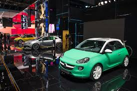 opel adam interior roof adams are all over the place at opel u0027s geneva motor show booth w