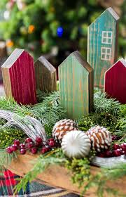 rustic wooden house ornaments