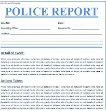 best sample police report form ideas resume samples u0026 writing