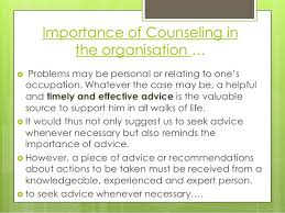 Counselling At Workplace Ppt Counselling Ppt
