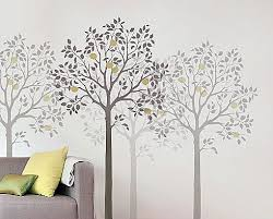 Large Tree Template For Wall large tree stencil wall stencils stencil designs for easy home decor