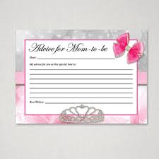 advice for the cards free printable baby shower advice cards