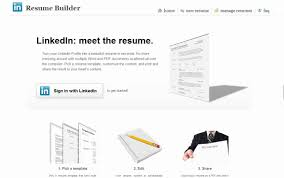 Resume Samples With Linkedin Url by Cosy Resume Builder Linkedin 4 Resume Builder Create A From Your