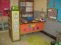 Decorate Office Shelves by Teacher Desk Decorating Ideas Google Search Teachery Me