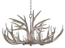 faux antler chandelier ebay