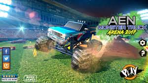 monster truck racing videos aen monster truck arena 2017 androgameplays race game hd