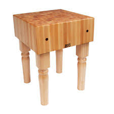 Kitchen Island Boos John Boos Maple Kitchen Islands U0026 Carts Ebay