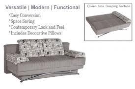 Modern Sofa Bed Queen Size Brown Futon Sleeper Sofa Fantasy Modern Sofa Bed The Futon Shop