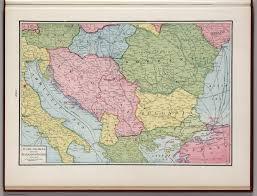 Map Of The Balkans Yugoslavia And The Balkan States David Rumsey Historical Map