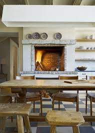 Rustic Electric Fireplace Rustic Electric Fireplace Kitchen Mediterranean With White China