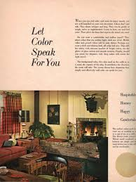 Decorating Ideas For Small Living Room And Kitchen 1960s Decorating Style 16 Pages Of Painting Ideas From 1969