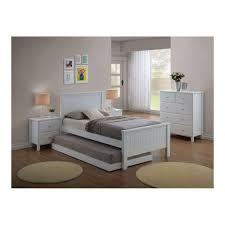White King Single Bedroom Suite Nova Single Or King Single 4 Piece Bedroom Suite With Trundle