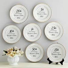 50th anniversary plates you can engrave traditional 50th wedding anniversary gifts