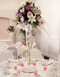 Tower Vases For Centerpieces Whole Ostrich Plume Wedding Centerpieces Flameless Floral Lights