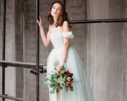 wedding dresses for tulle wedding dress etsy