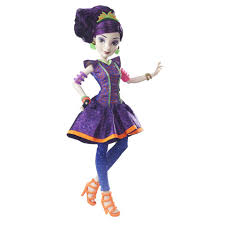 Mal Costume Disney Descendants Neon Lights Ball Mal Isle Of The Lost Doll
