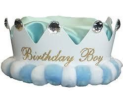 boys birthday boys hat baby boys birthday crown one size baby or